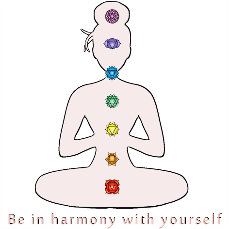 be in harmony with yourself