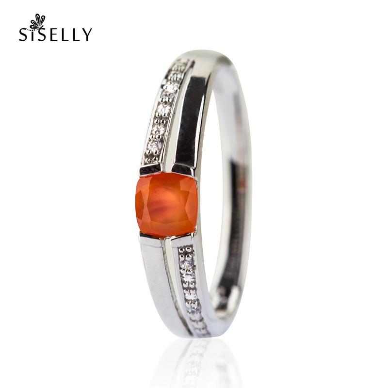 40468166c4f Ehted ja sõrmused Karneooliga hõbesõrmus | Siselly e-pood