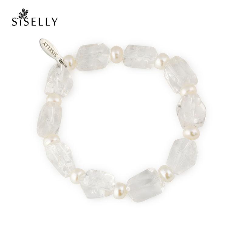 9d889f24462 Ehted ja kõrvarõngad Roosa kvarts, mäekristall ja pärl | Siselly e-pood