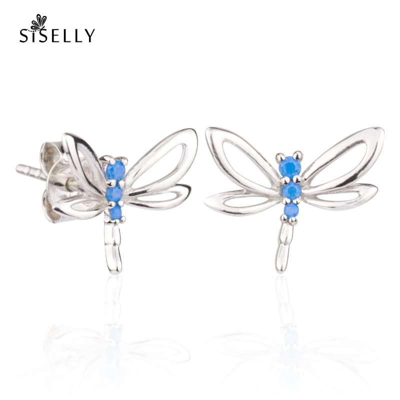 Siselly ehted ja ja kõrvarõngad, hõbeehted ja hõbekõrvarõngad, Sky Blue Opaal Nanokristallid. Suurepärane kingitus.
