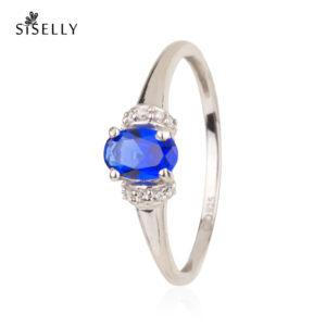 Siselly ehted ja sõrmused, hõbeehted ja hõbesõrmused, Safiir Nanokristallid. Suurepärane kingitus.